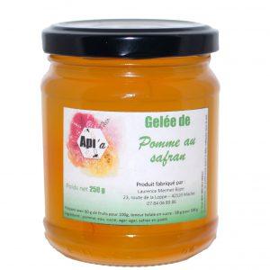 Gelée de pommes au safran
